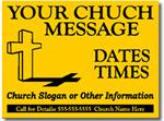 Style CH03 Church Sign Design