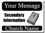 Style CH04 Church Sign Design