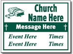 Style CH06 Church Sign Design