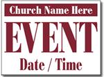 Design CH07 Church Sign Design