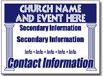 Style CH09 Church Sign Design