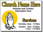 Design CH11 Church Sign Design