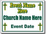 Style CH14 Church Sign Design