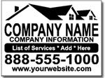 Style CON13 Contractor Sign Design