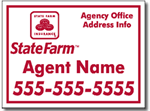 Design COR03 State Farm Sign Design