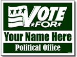 Style P103 Political Sign Design