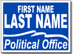 Style P104 Political Sign Design