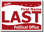 Design P108 Political Sign Design