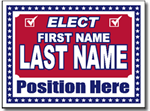 Style P204 Political Sign Design