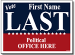 Style P205 Political Sign Design