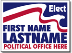 Style P211 Political Sign Design