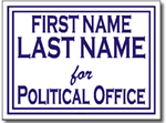 Style P21 Political Sign Design