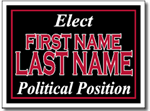 Design P42 Political Sign Design