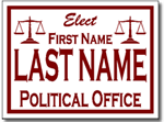 Style P51 Political Sign Design