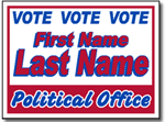 Design P52 Political Sign Design