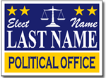 Style P62 Political Sign Design