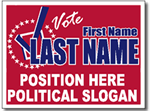 Style P72 Political Sign Design