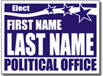 Style P91 Political Sign Design