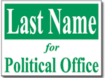 Style PSSW4 Political Sign Design