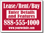 Style RE03 Real Estate Sign Design