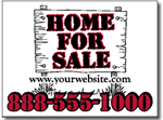 Style RE10 Real Estate Sign Design