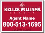 Style RE15 Keller Williams Sign Design