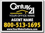 Design RE17 Century 21 Real Estate Sign Design