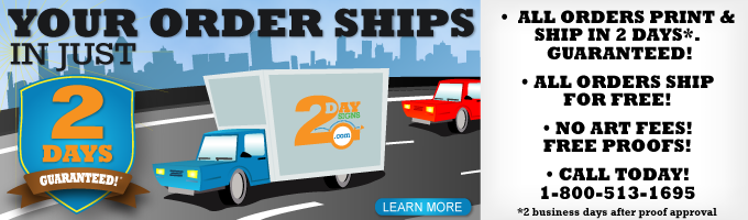 Your Order Ship in Just 2 Days with Free Shipping