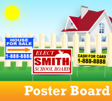Poster Board Sign Products