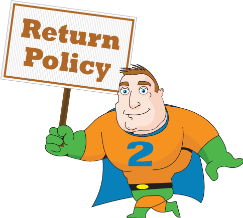 2 Day Signs - Return Policy