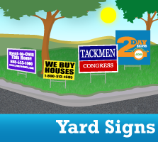 Yard Sign Products