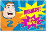 Digitally Printed Vinyl Banner 4ft x 6ft with Free Shipping